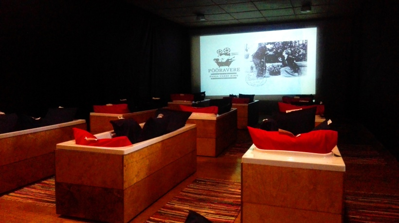 Bath cinema visit Estonia